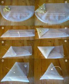 Tuto : Comment plier une feuille de brick en triangle ?