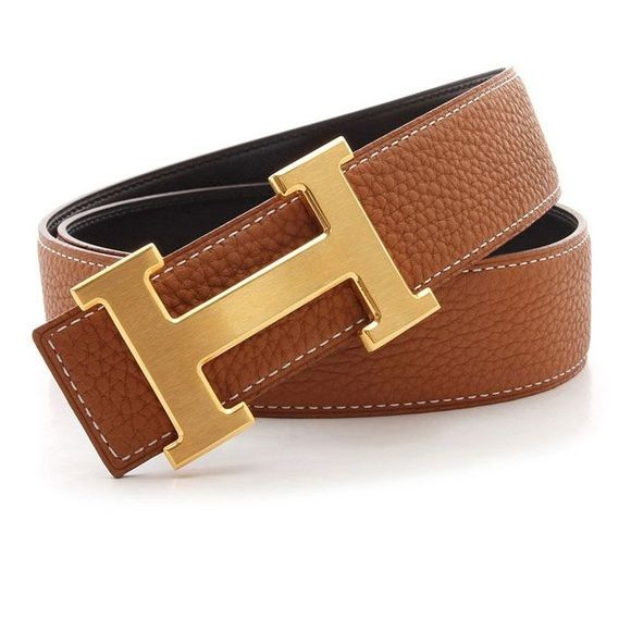 Brown Hermes belt with gold H buckle Was too small on me so I m selling for  the same price as I bought it!  200 US dollars. Beautiful leather and  honestly ... 039bb250fed