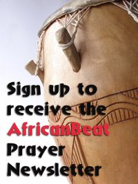 African Beat SignUp Letter