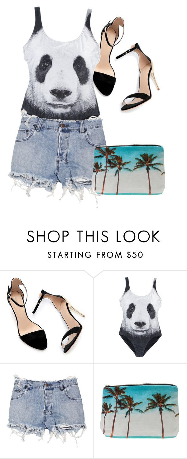 """Panda Days"" by jiromeo ❤ liked on Polyvore featuring Zara, We Are Handsome, Ksubi and Samudra"