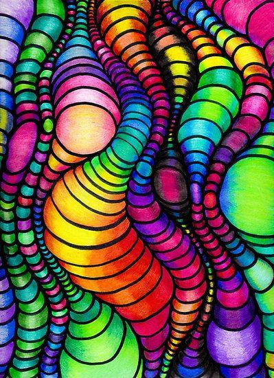 Art Optical Illusion Drawing