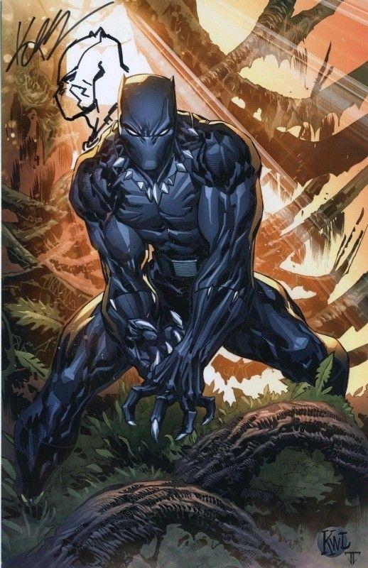 Black Panther | Black panther comic, Black panther art ...