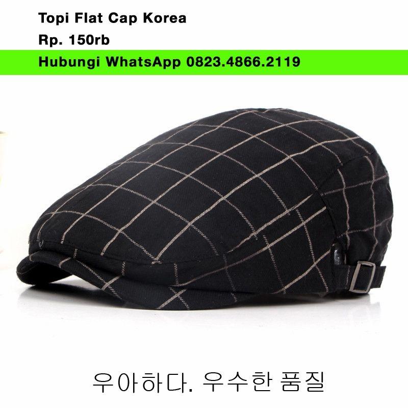 Pin by Toko online jual topi copet flat cap newsboy cabbie gatsby ... 72d5746359