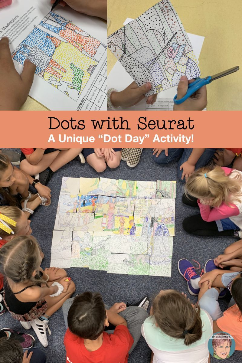 A Unique Dot Day Art Project for Your Classroom #dotdayartprojects A unique Dot Day art project for art teachers and classroom teachers alike. #dotdayartprojects A Unique Dot Day Art Project for Your Classroom #dotdayartprojects A unique Dot Day art project for art teachers and classroom teachers alike. #dotdayartprojects