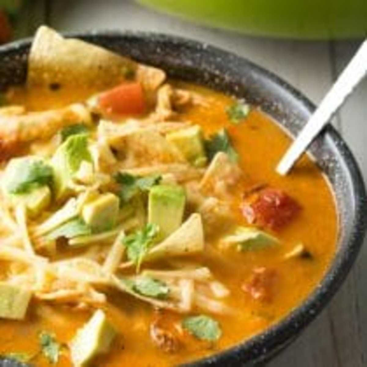 The Best Chicken Tortilla Soup Recipe - A Spicy Perspective