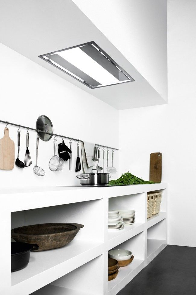 kitchen vents lace curtains remodeling 101 ceiling mounted recessed home style the vent heaven by falmec remodelista