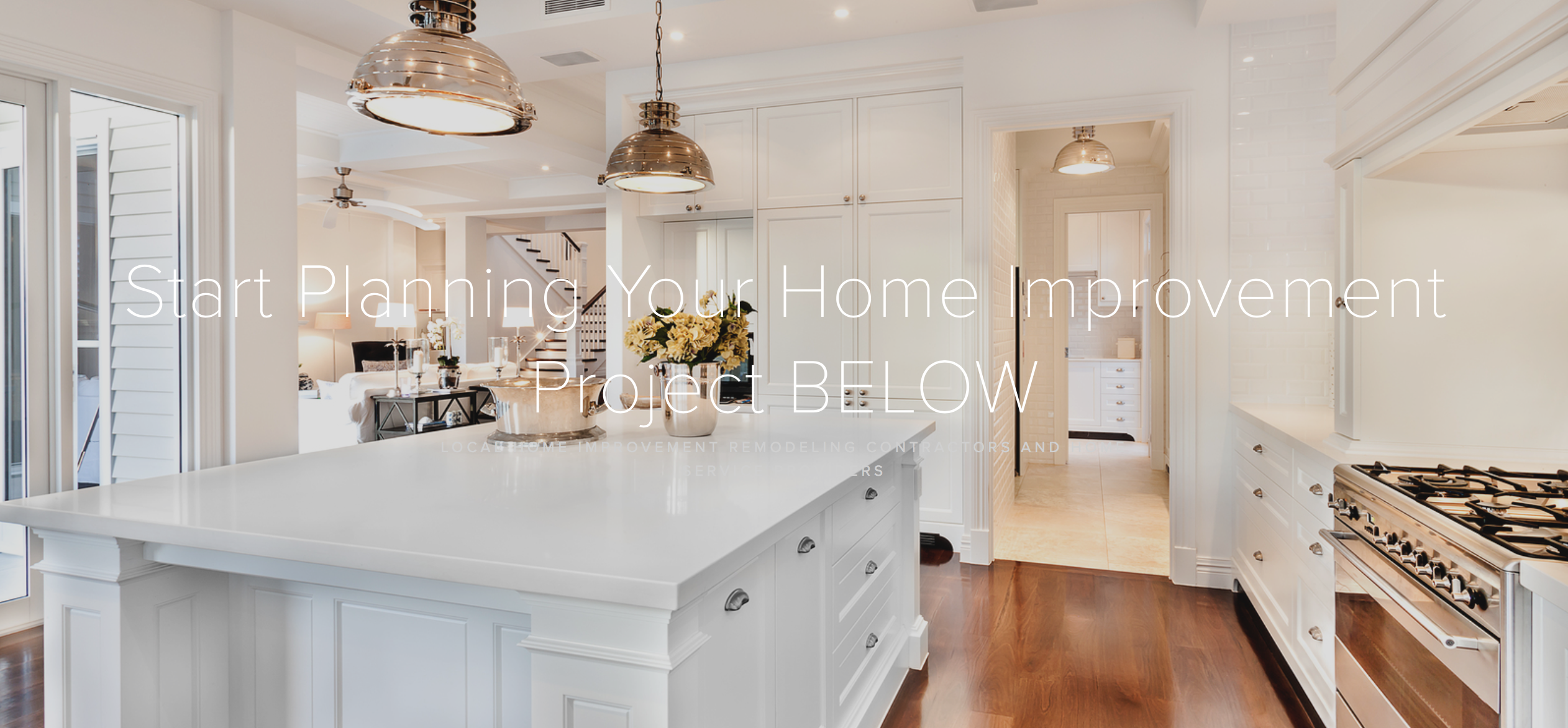 Start Planning Your Home Improvement Projects With Just