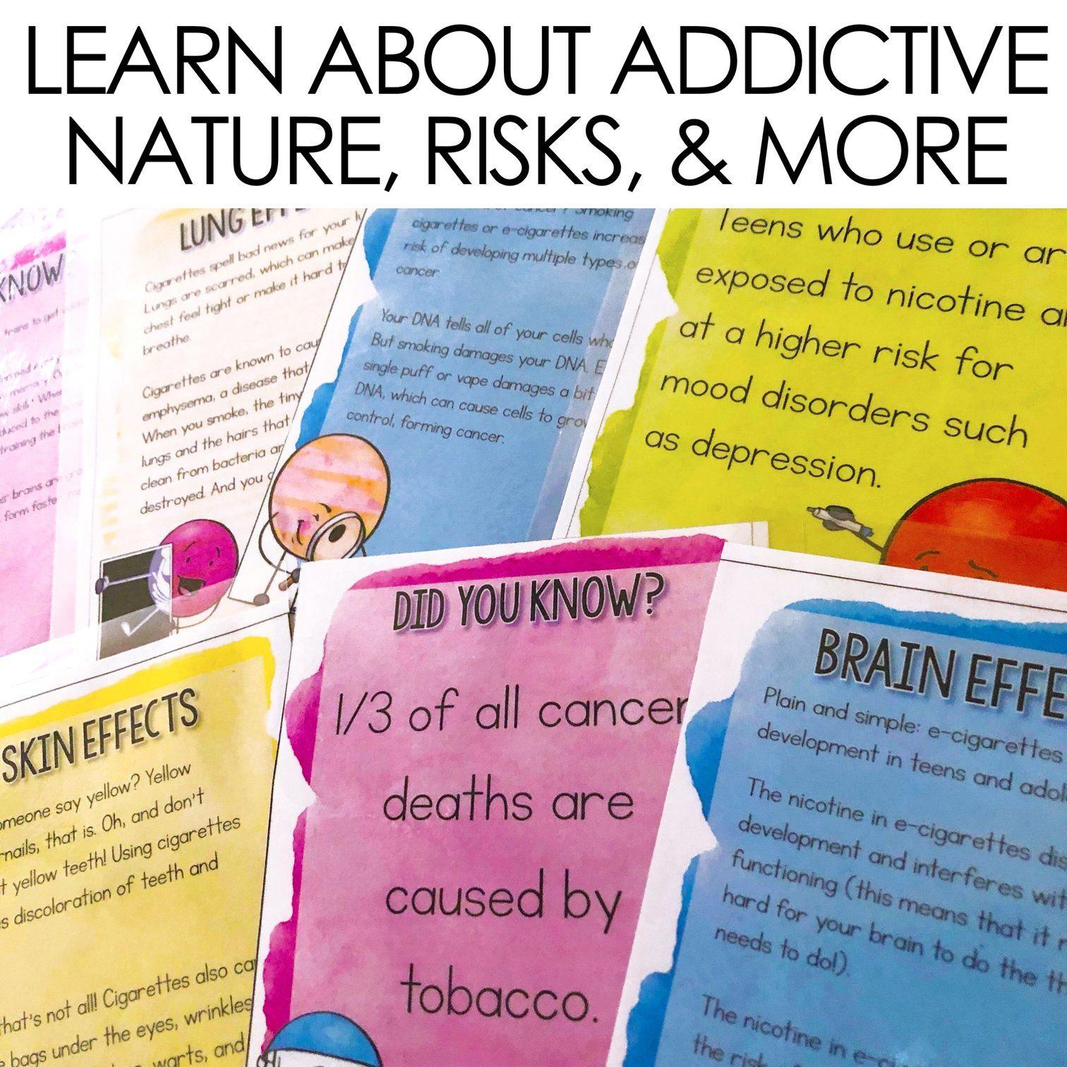 Vaping Cigarettes And E Cigarettes Classroom Guidance