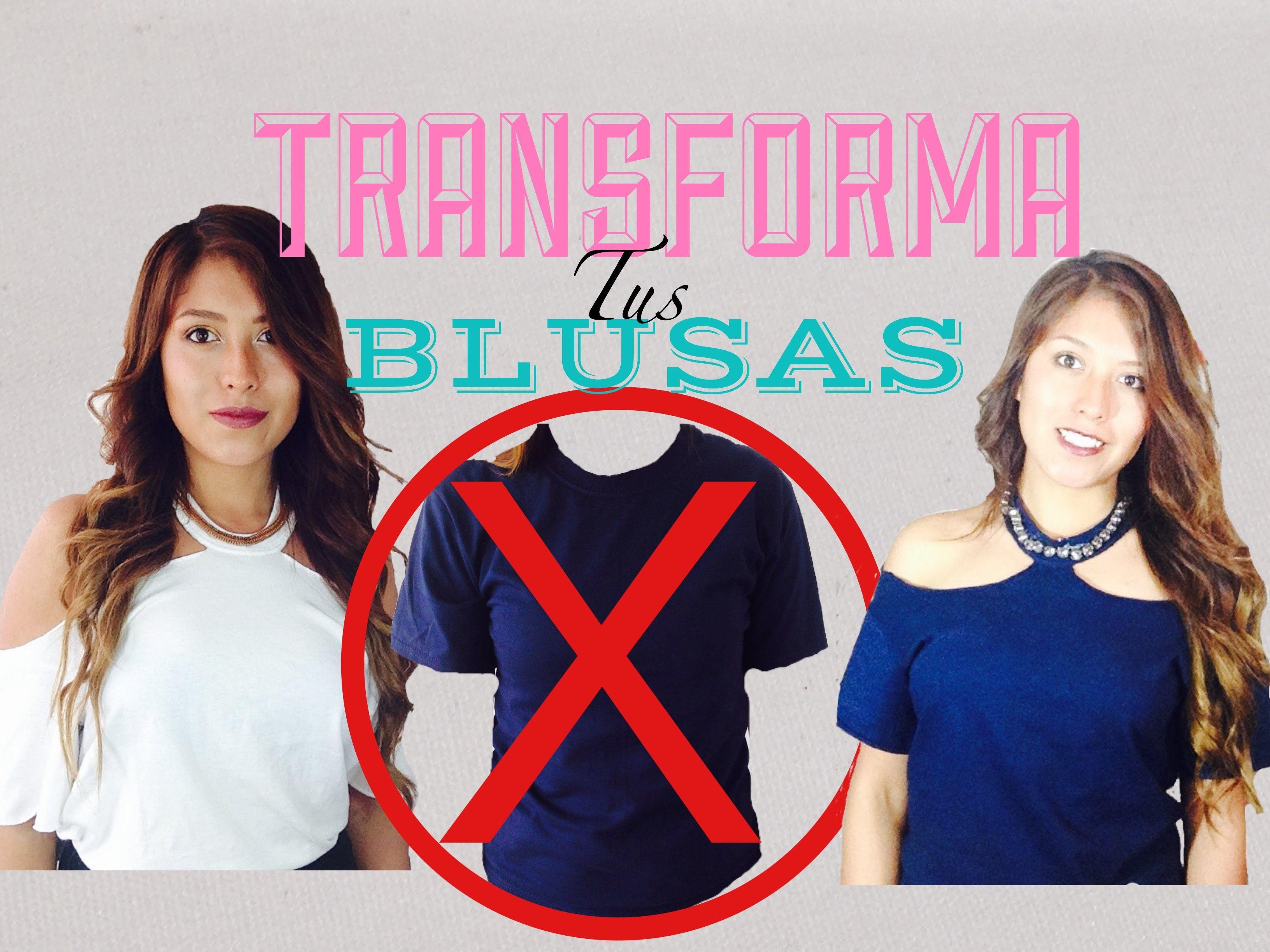 DIY Transformar una camisa en blusa Patrones gratis