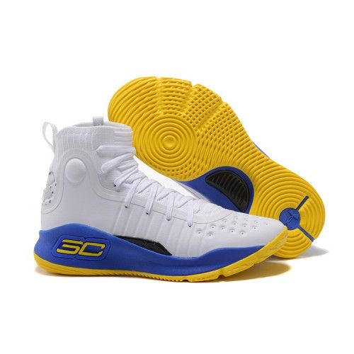 2017 Under Armour Curry 4 Red Yellow Mens Size Super Deals