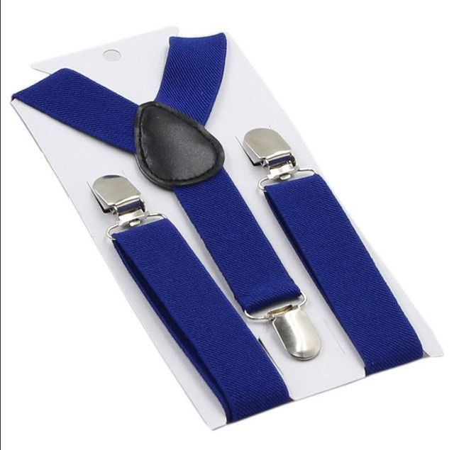 Clip-on Suspenders (Many colors to choose from)