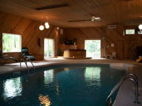 indoor pool and hot tub. Find This Home On Realtor.com #indoor #pool #hot #tub Indoor Pool And Hot Tub