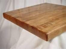 Butcherblock Solid Wood Square Economy Table Top Restaurant Tables