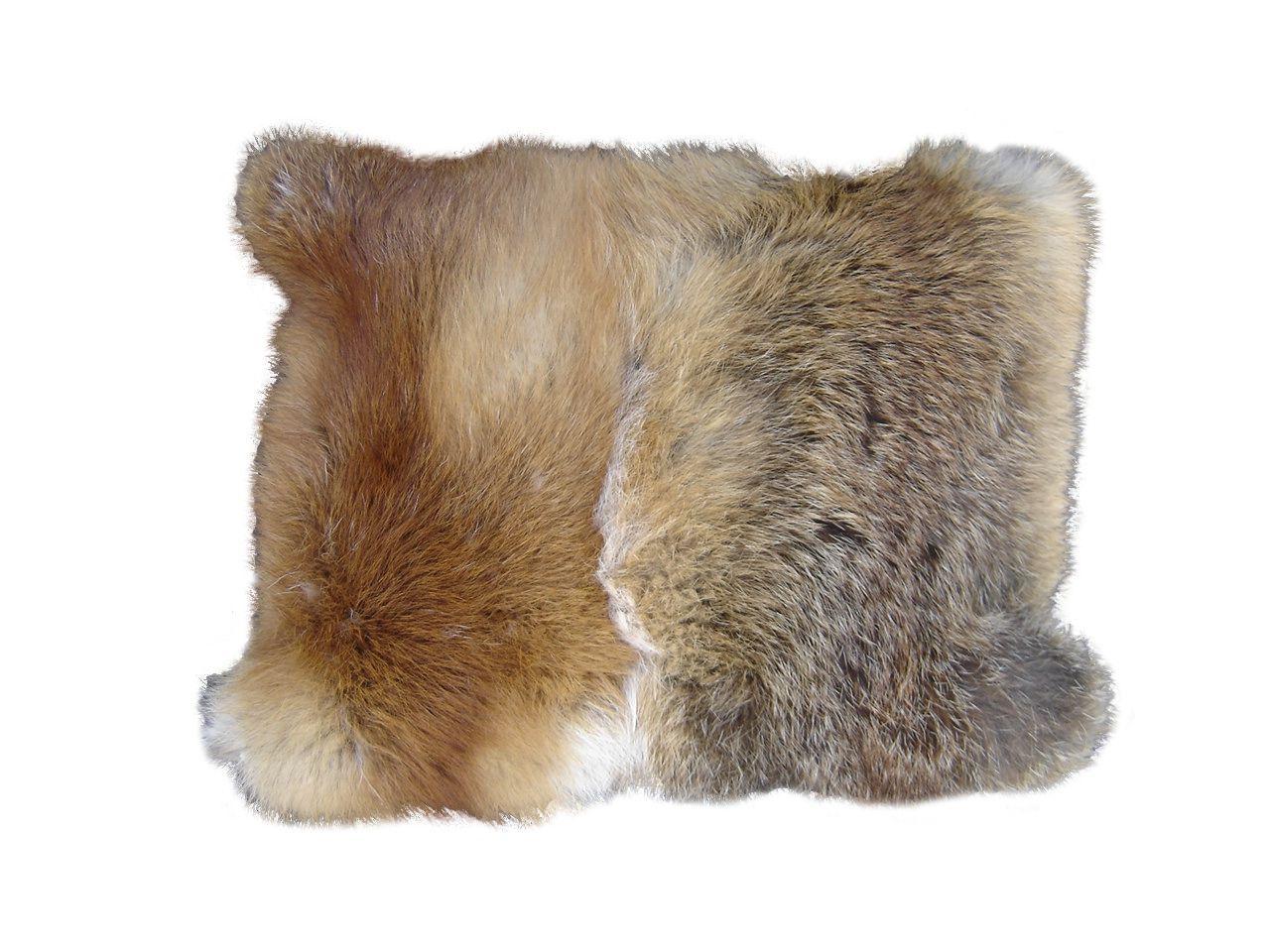 Das Flauschigste Fuchsfell Kissen Auf Dem Ihr Je Einen