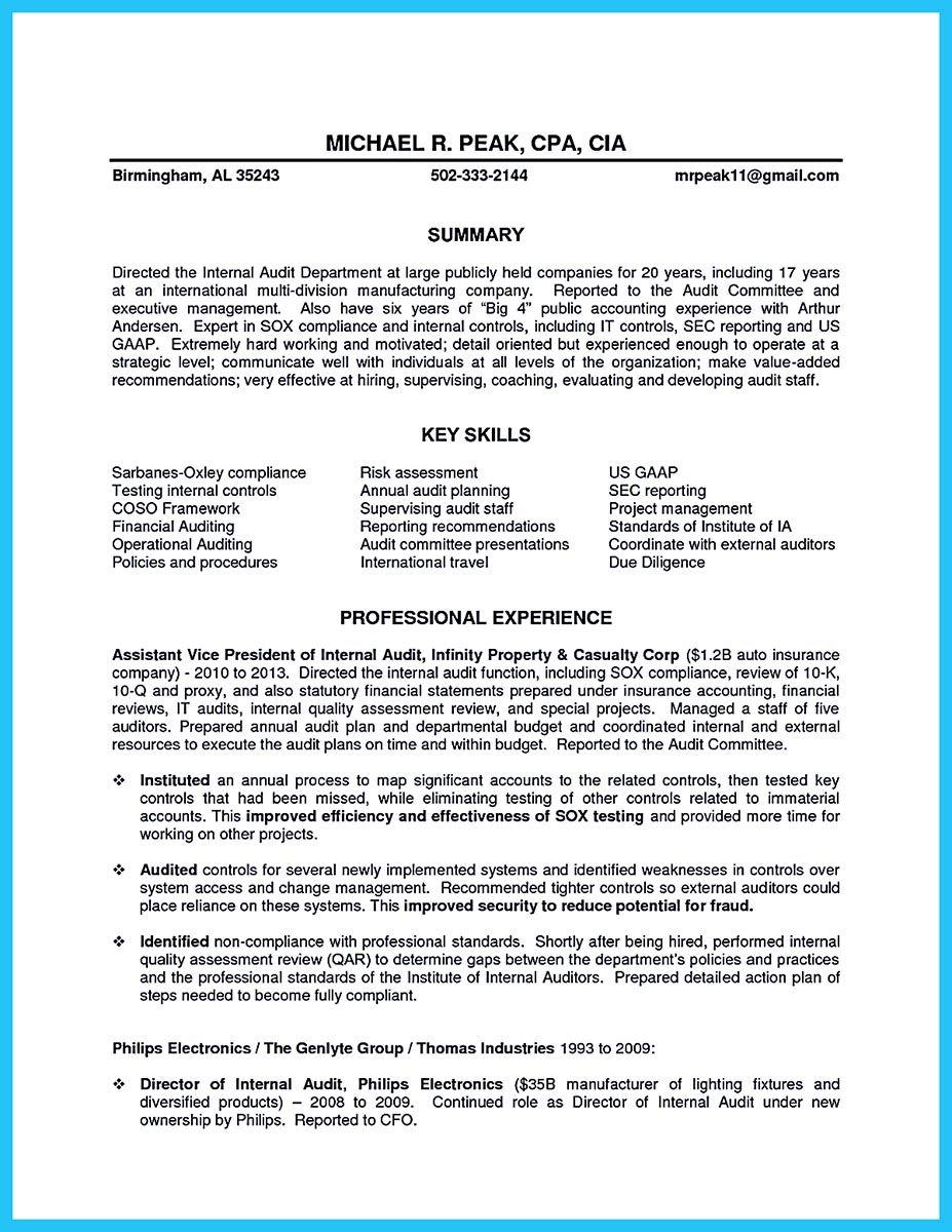 Understanding A Generally Accepted Auditor Resume First Job Resume Nanny Job Description Job Resume