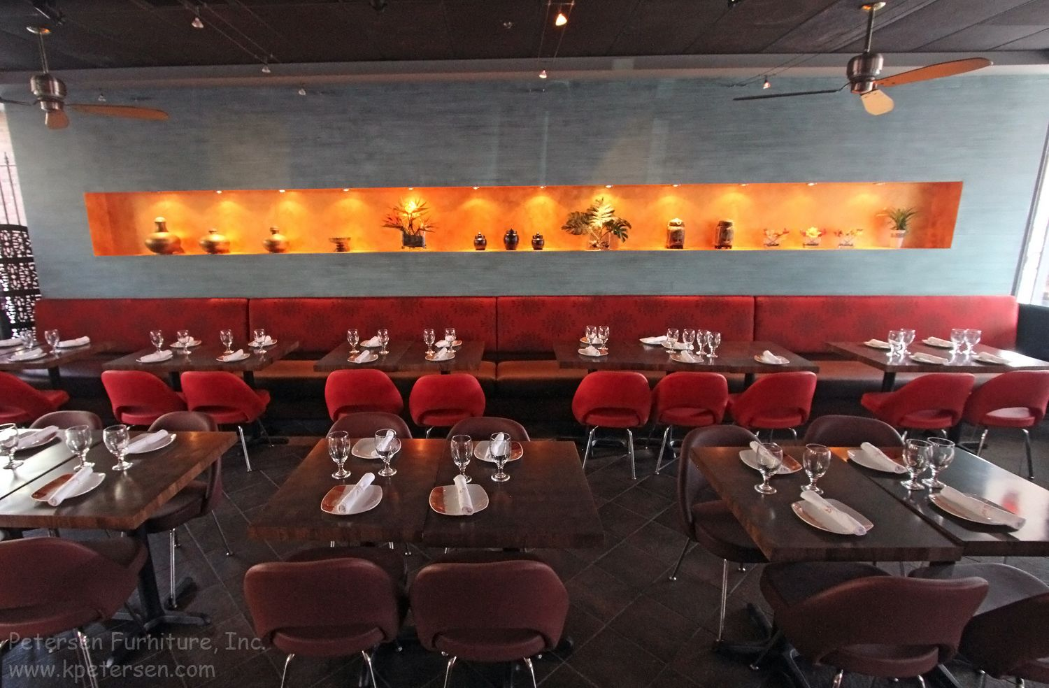 restaurant booth banquette | restaurant renovations - seating