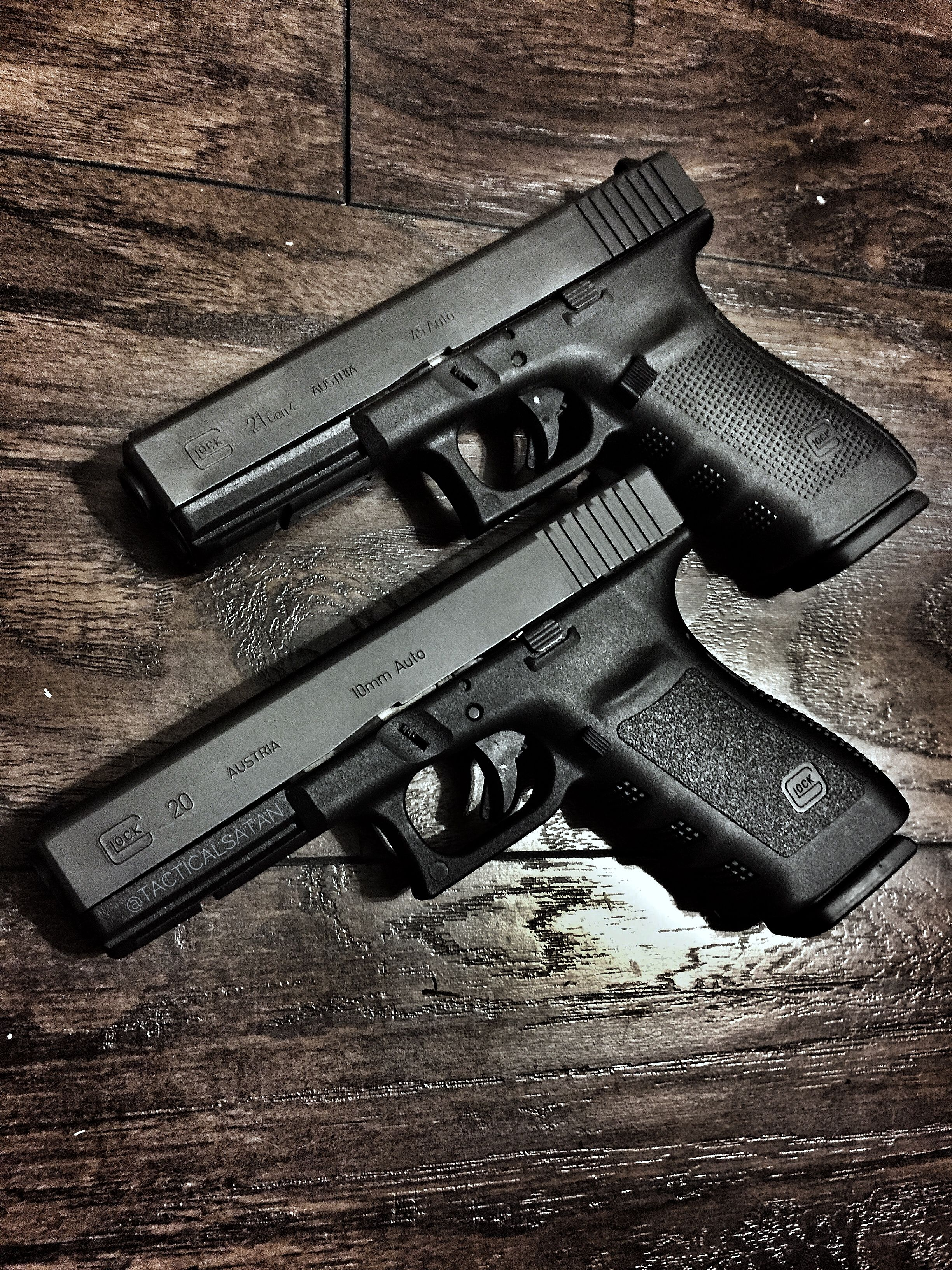 Glock 20 and 21  The most powerful Glocks  | Firearms | Guns, Hand