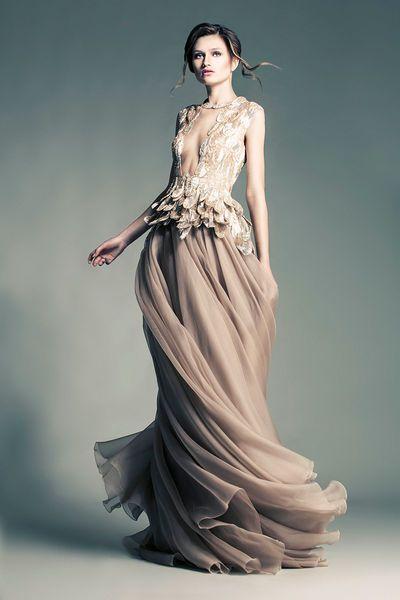 Jean Louis Sabaji Couture: Spring-summer 2013