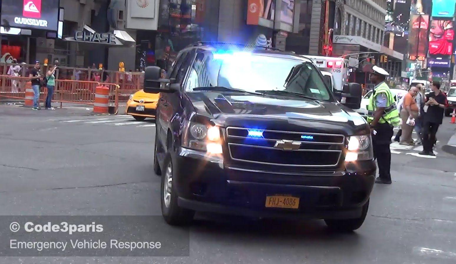 Secret Service Suburban Nyc Emergency Ambulances Emergency