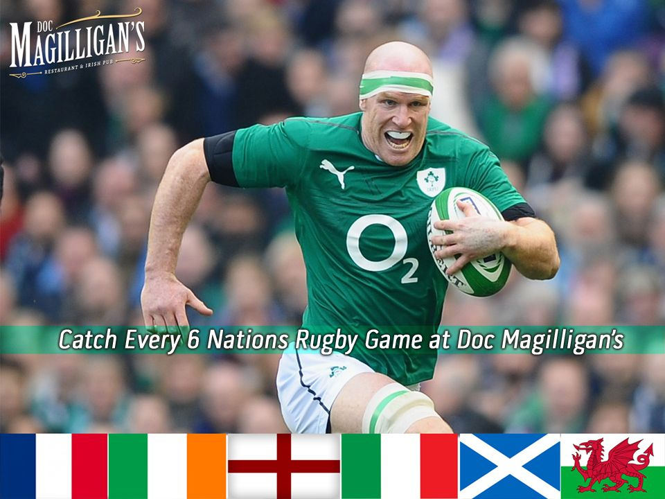Watch all RBS 6 Nations Champion Games Live at Doc's. All the action begins on Friday, February 6. Doc's will be showing all 15 games for the entire tournament! #Rugby #6Nations #DocsGameFace