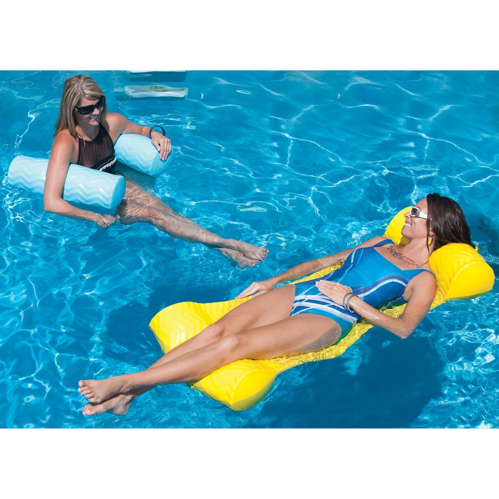 Have to have it trc recreation sun cliner water hammock