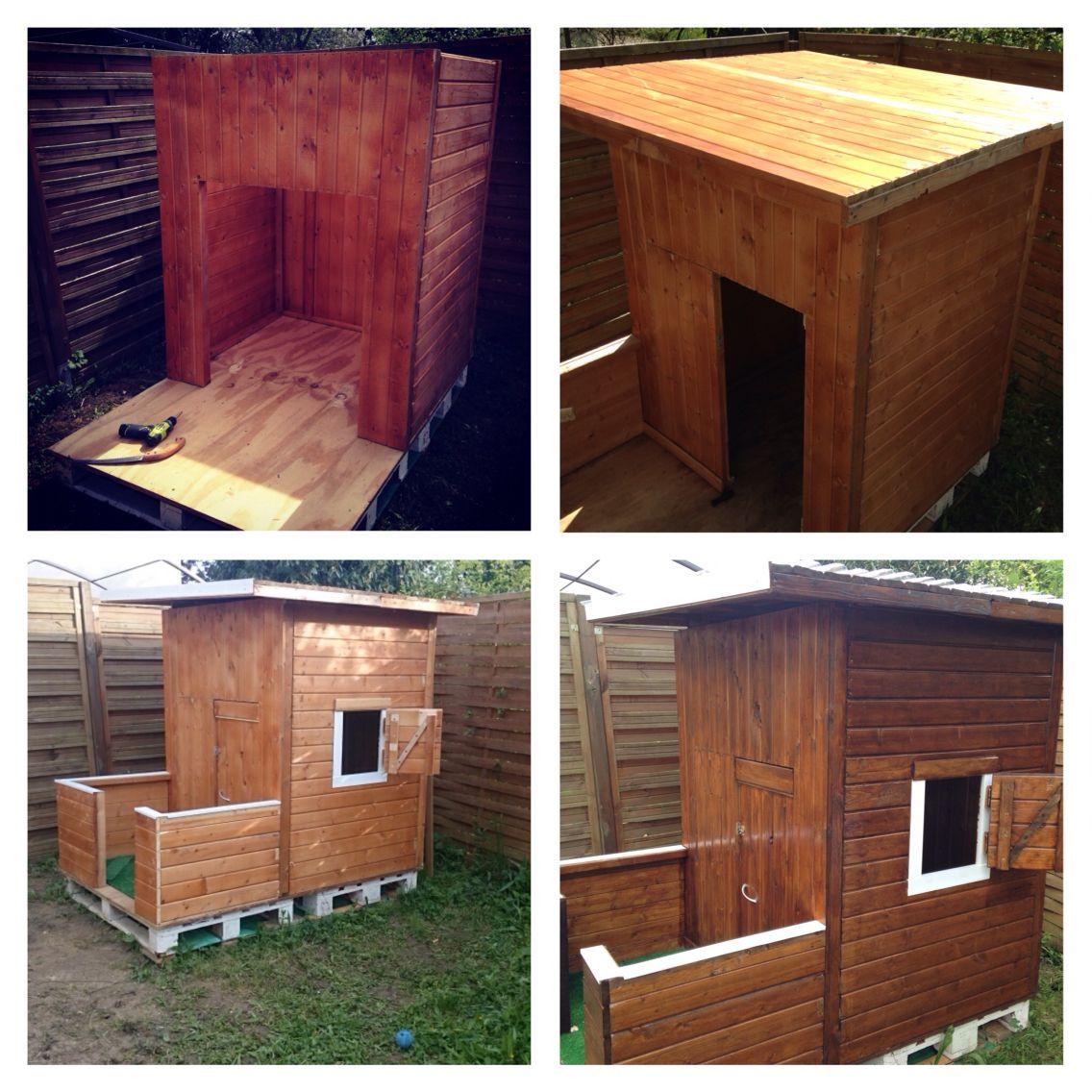 cabane en bois enfants de 3 14 ans cabane en bois pinterest chang 39 e 3