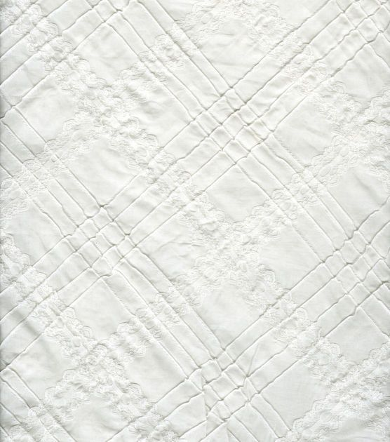 Sew Classics Specialty Cotton Lacey Pintuck White at Joann.com ...
