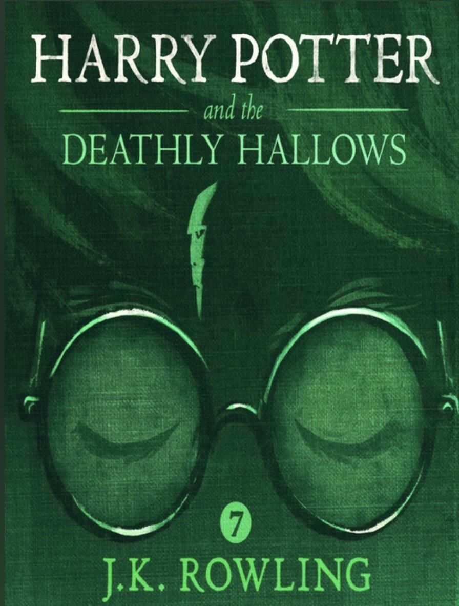 Just Noticed Voldemort On The Newest Cover Of The Deathly Hallows Audio Books Harry Potter Books Free Audible Books
