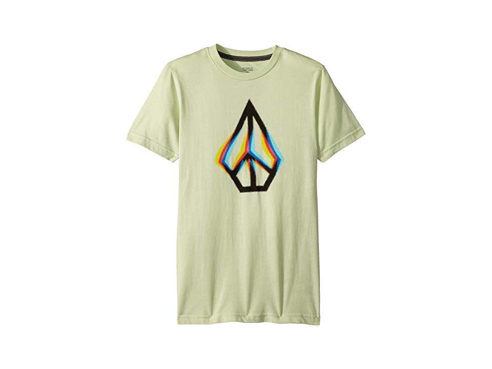 3e49f4c241e4 Volcom Kids Peace Blur Short Sleeve Tee (Big Kids) (Mist Green) Boy s