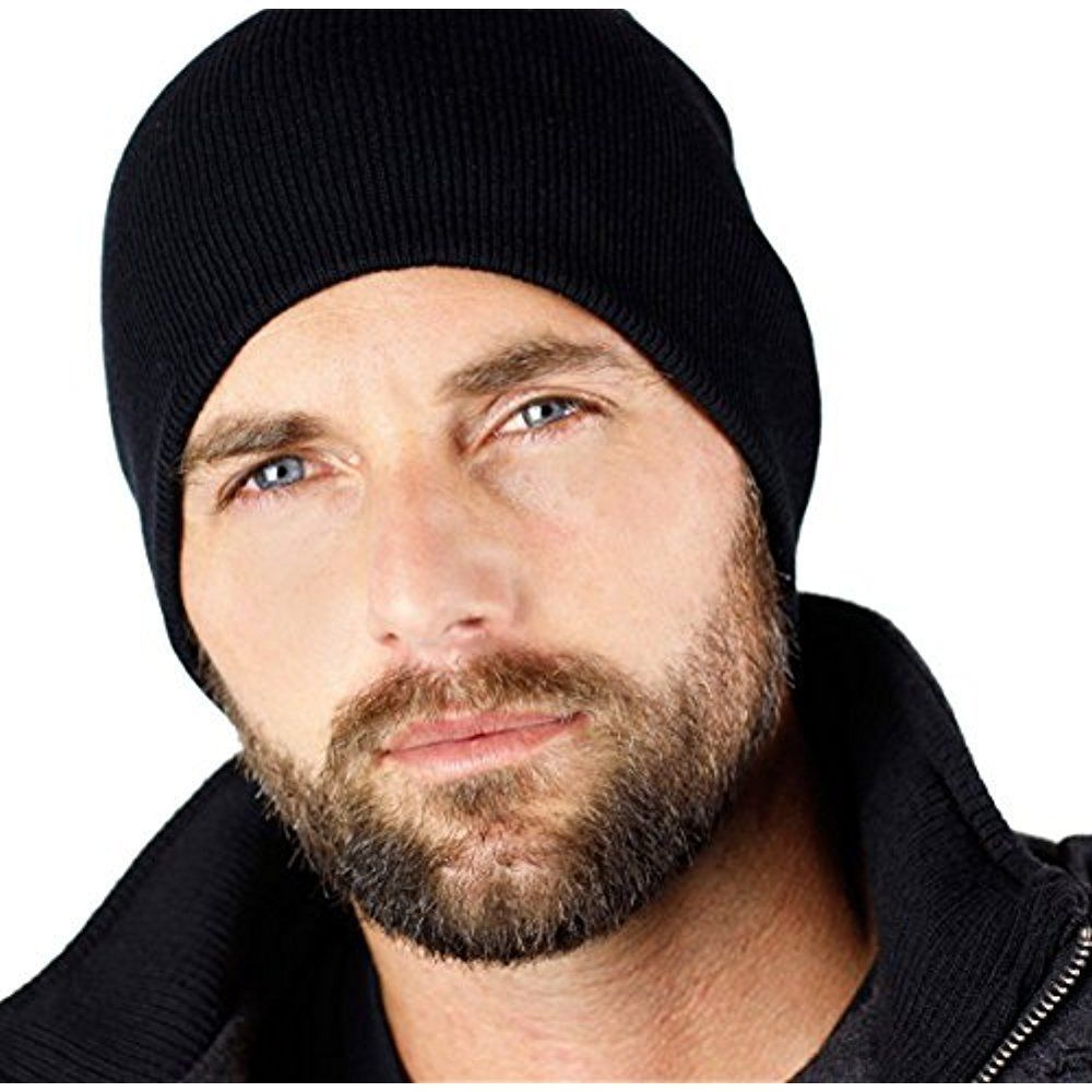 Details about beanies for men knit hat winter warm 9