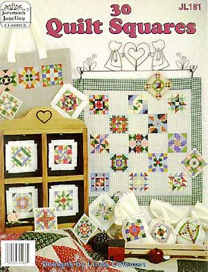30 Quilt Squares - Cross Stitch Pattern