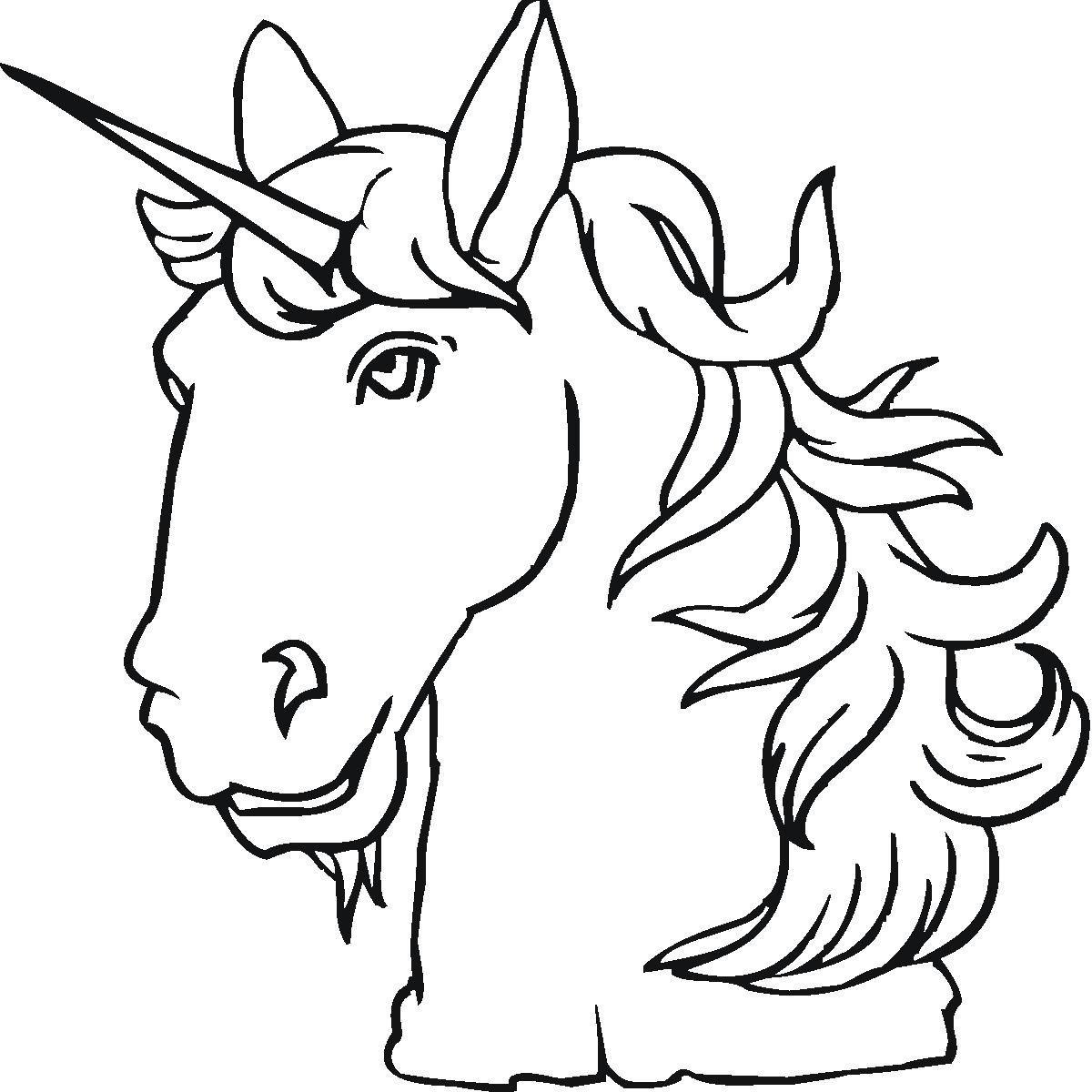 Unicorns Colotring Pages Einhorn Kopf Ausmalbilder Einhorn Einhorn Zum Ausmalen