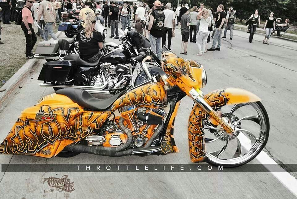 Custom Bagger Brought To You By House Of Insurance In Eugene