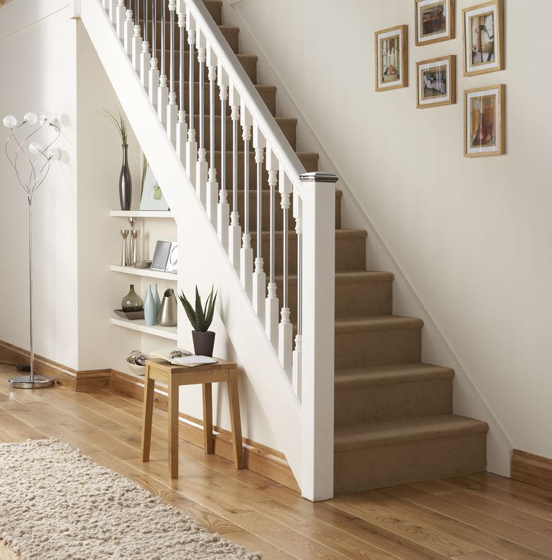 Best Staircases Axxys Solo Stair Parts White Staircases 640 x 480