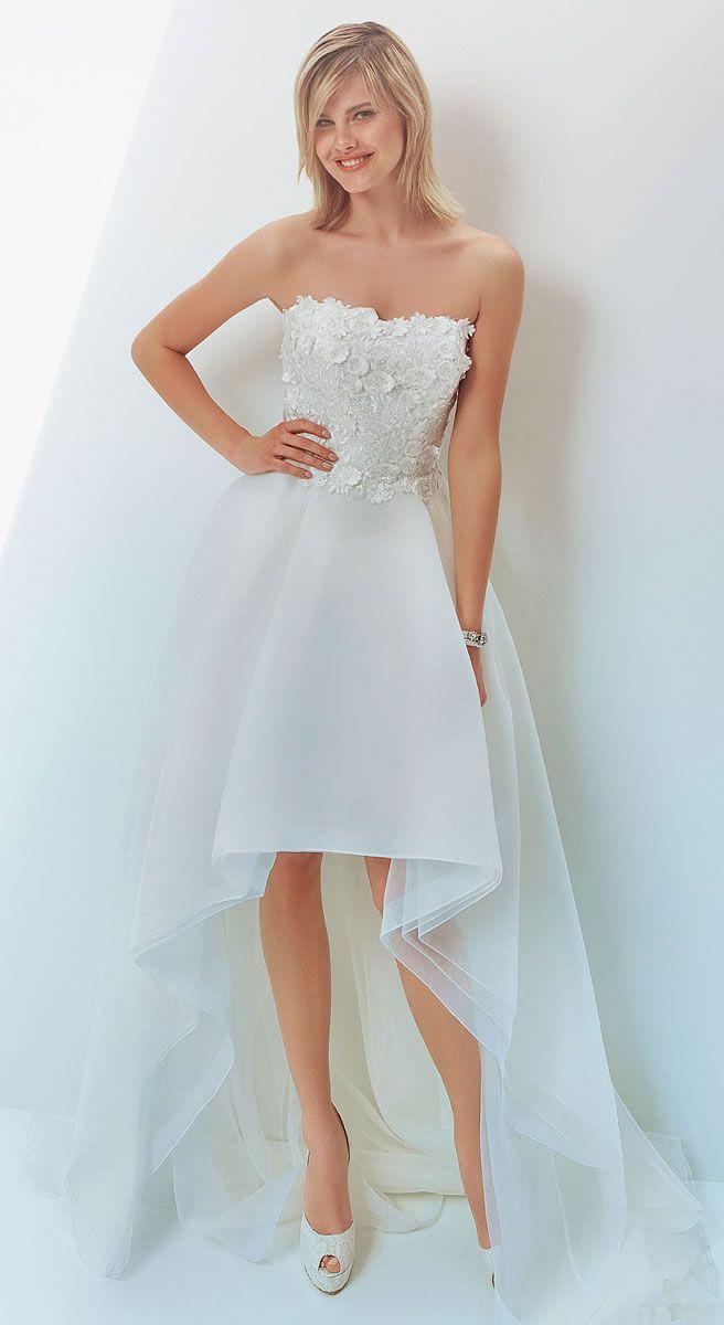 Pin de Elle Dimitrova en High-low dresses | Pinterest | Novios y ...