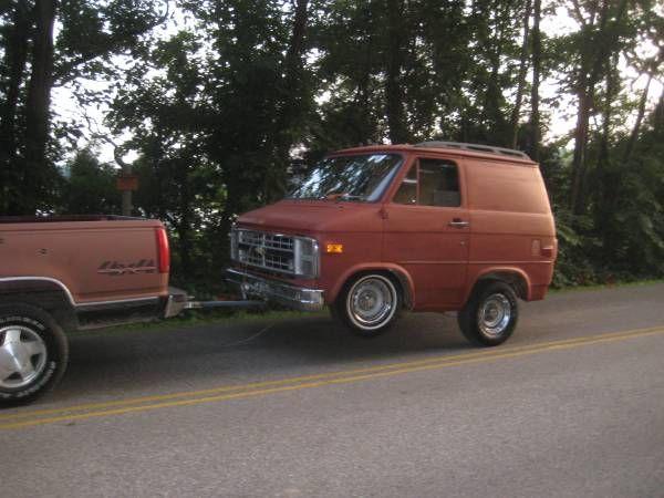 86 Custom Made Enclosed Trailer Full Size Van Cut Down