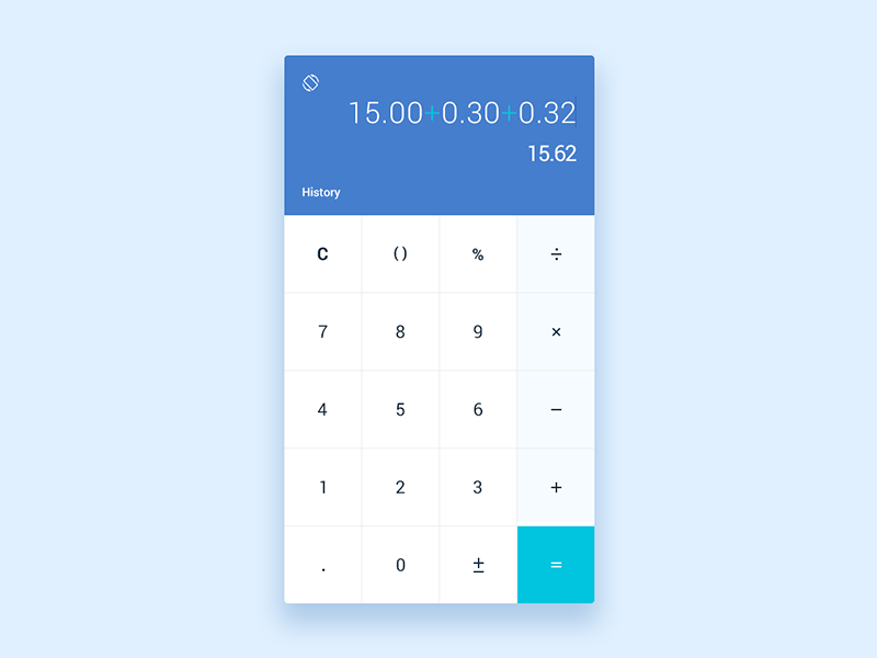 Simple Minimal Calculator Coding Calculator Code Css Css Html