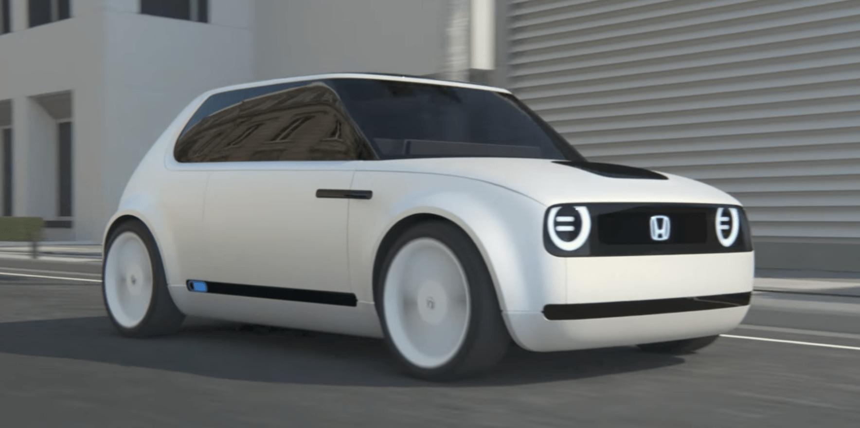 Honda Delays Its Fun Retro Looking All Electric Vehicle To 2020 Report Says Electrek Electric Car Concept New Model Car Honda Electric Car