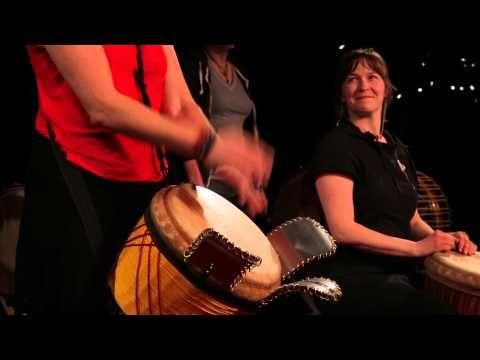 Les joies du djembe: Catherine Veilleux at TEDxGatineau - YouTube