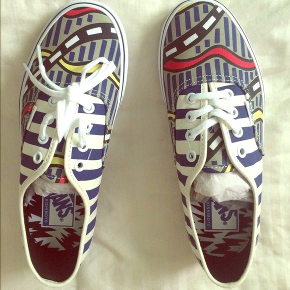 Vans special edition Eley Kishimoto special edition Vans never worn, brand new Vans Shoes