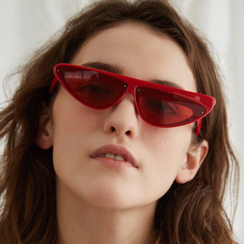 Triangle Punk For Glasses 2018 Sunglasses Small Qetou Women Sun IY6yb7fgv
