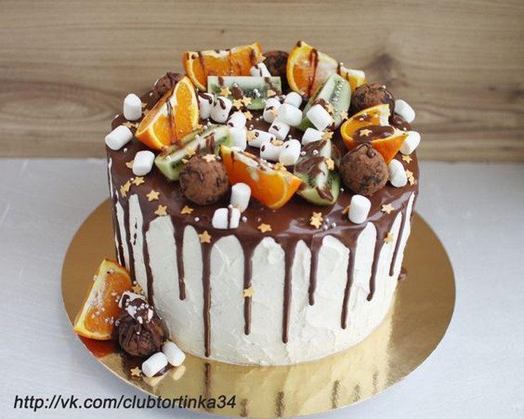 Как украсить торт в домашних условиях? Фото-идеи | Торт на ...