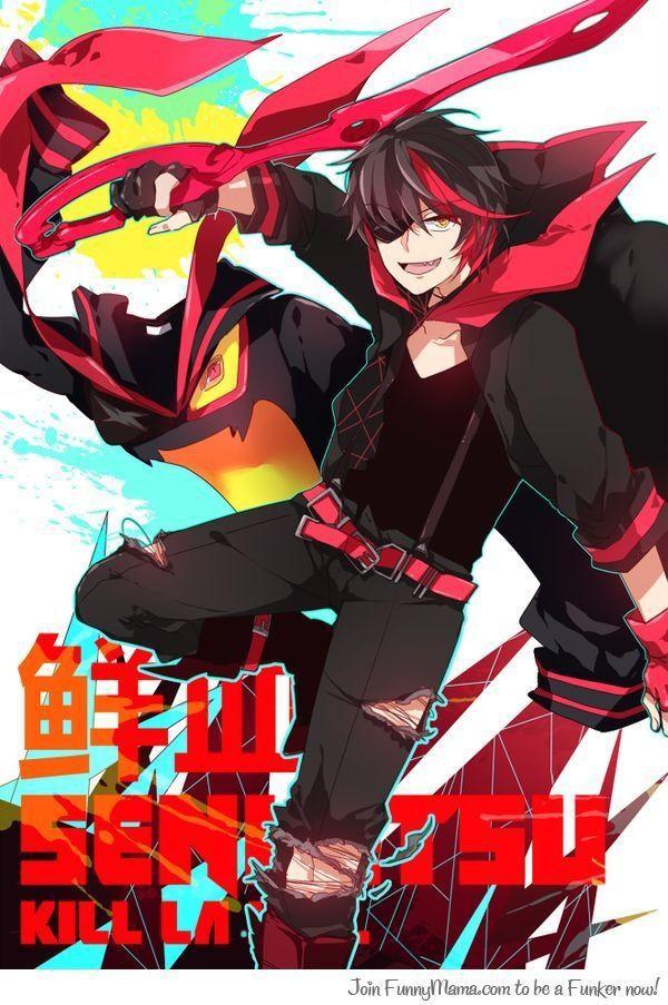 Kill la kill one -shots - Human!Senketsu X reader   Kill la kill