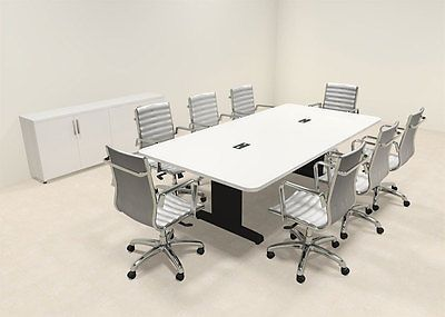 Modern Rectangular Feet Conference Table MTCSDC - 8 foot conference room table