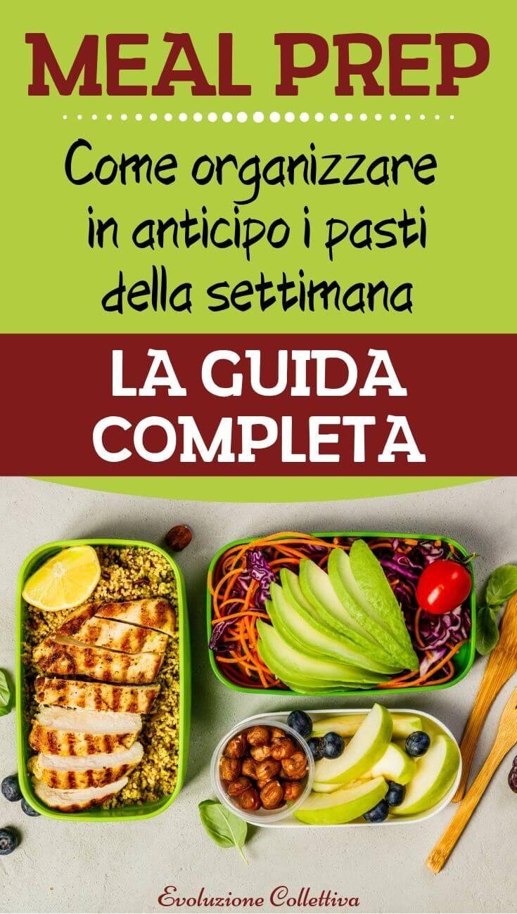 Come Organizzare I Pasti Settimanali meal prep: la tendenza alimentare dell'anno. ecco come