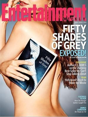 First Exclusive U.S. Interview with E L James, author of the FIFTY SHADES OF GREY trilogy, in the April 6 issue of Entertainment Weekly.
