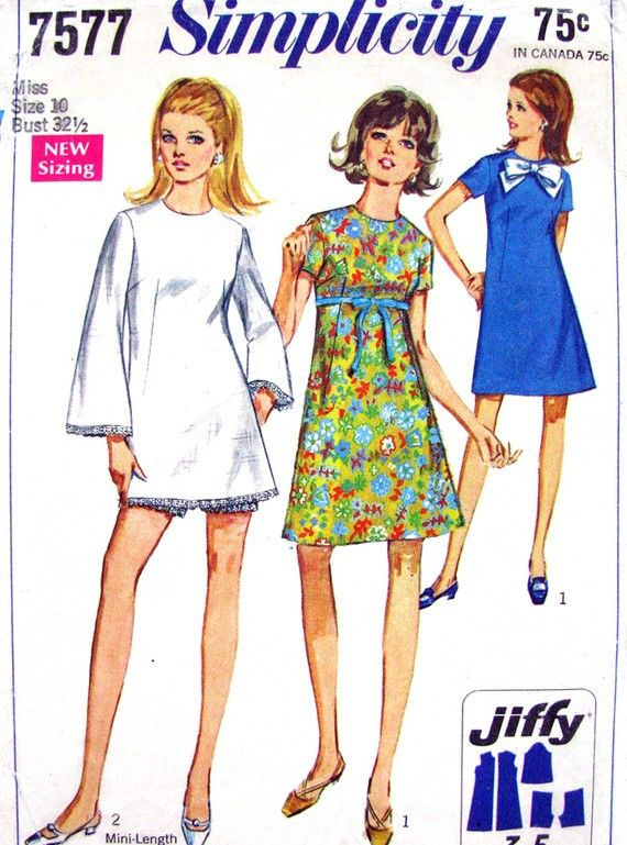 40s Mod Dress With Bell Sleeve 1940's Vintage Patterns Adorable Bell Sleeve Dress Pattern