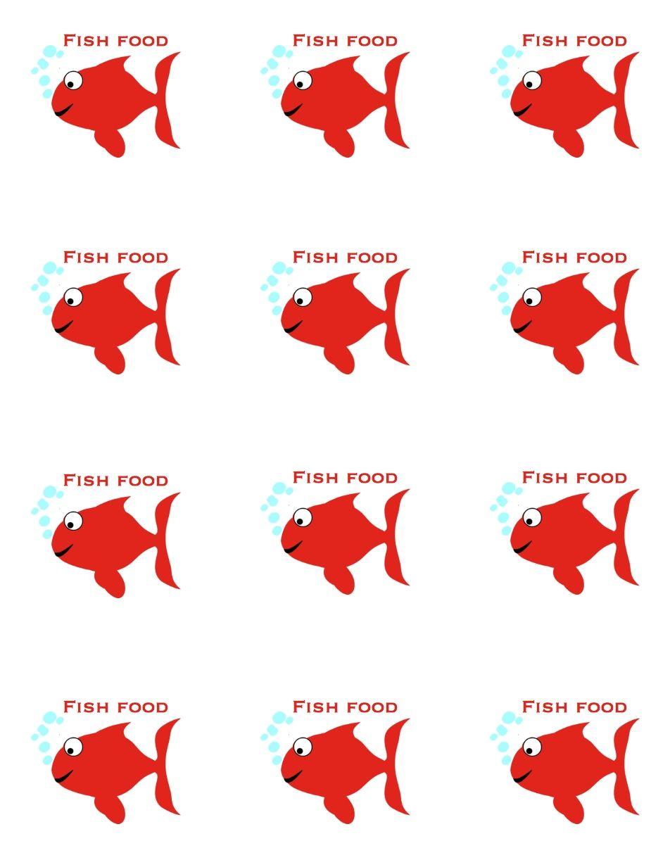 Fish Food Printables - fish+food.jpg 952×1,232 pixels   zzz1 Yr ...