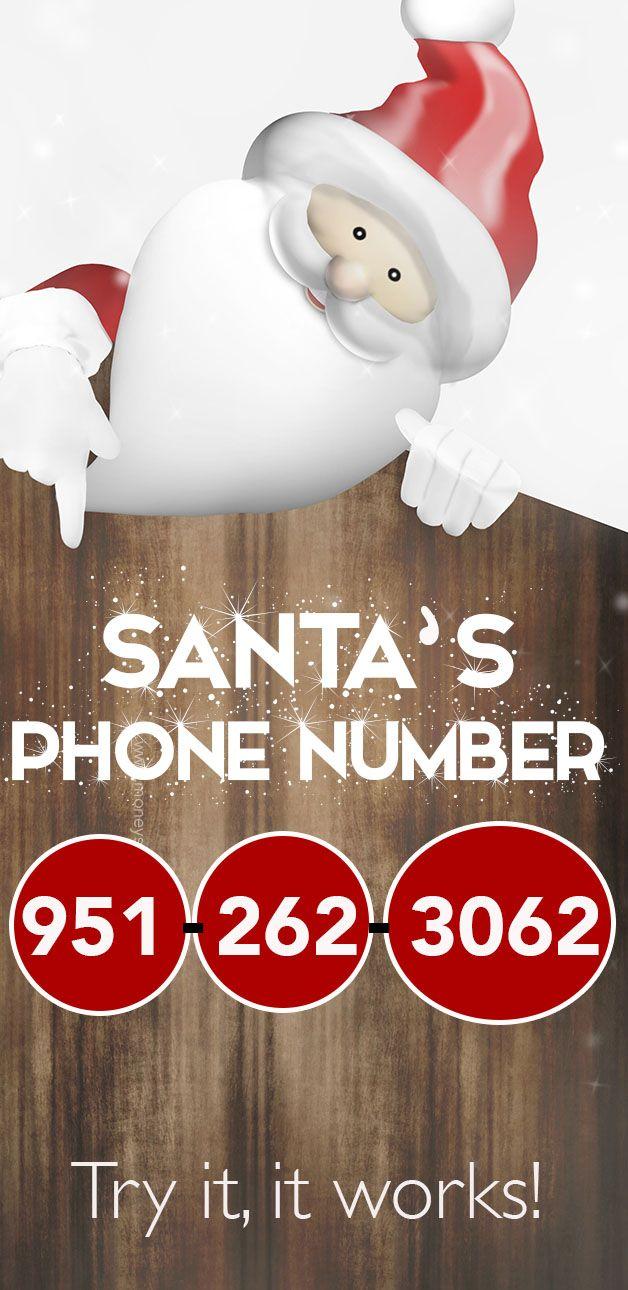 Call Santa Claus Here S His Phone Number Ol Santa And