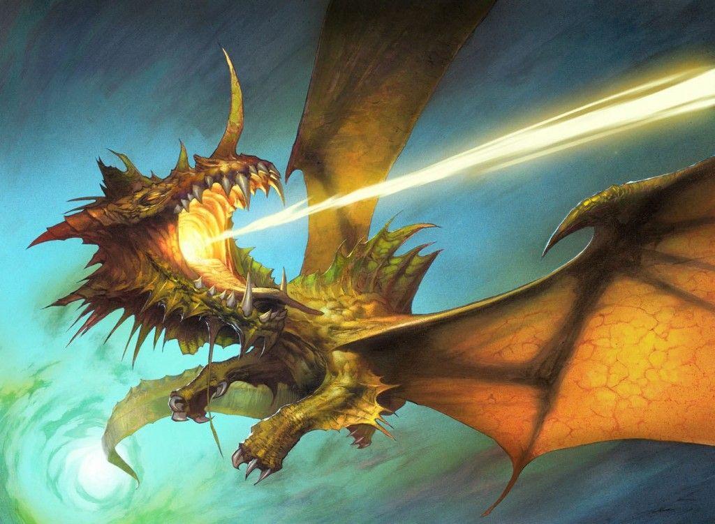 Scion of the Ur-Dragon - MtG Art